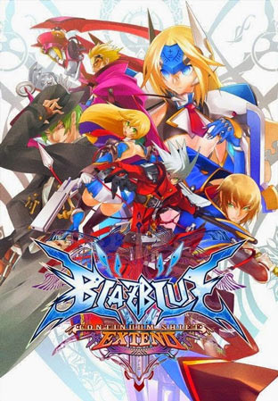 Portada de BlazBlue: Contiinuum Shift Extend