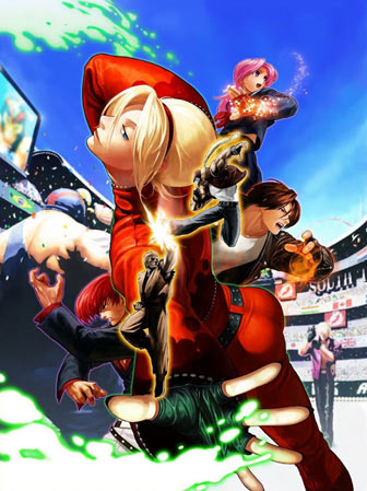 Portada de The King of Fighters XII