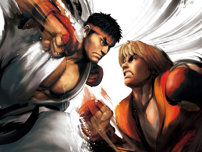 Portada de Street Fighter IV