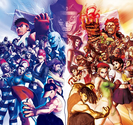 Portada de Super Street Fighter IV: Arcade Edition