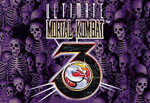 Portada de Ultimate Mortal Kombat 3