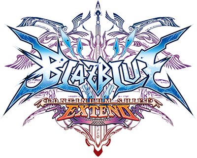 Logo de BlazBlue: Contiinuum Shift Extend