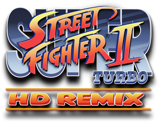 Logo de Super Street Fighter II Turbo HD Remix